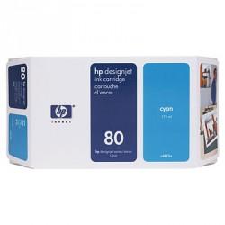 Cartouche d'encre HP 80 Cyan 350ml