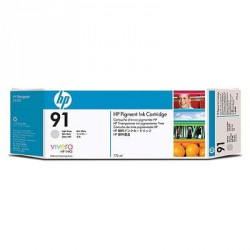Cartouche d'encre gris clair HP 91 775 ml