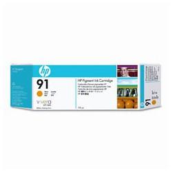 Cartouche d'encre jaune HP 91 775 ml