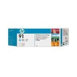 Cartouche d'encre cyan clair HP 91 775 ml