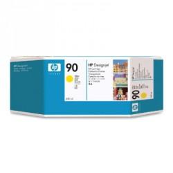 Cartouche d'encre jaune HP 90 400-ml