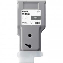 Cartouche d'encre CANON Gris PFI-206 GY 300ml