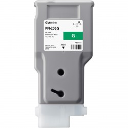 Cartouche d'encre CANON Vert PFI-206 G 300ml