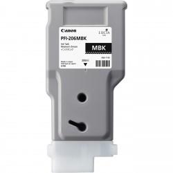 Cartouche d'encre CANON Noir Mat PFI-206 MBK 300ml