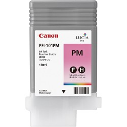 Cartouche d'encre CANON Magenta Photo PFI-101 PM 130Ml