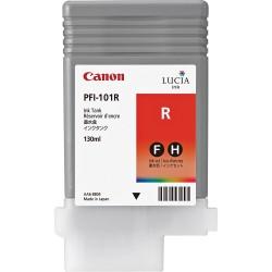 Cartouche d'encre CANON Rouge PFI-101 R 130Ml