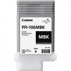 Cartouche d'encre CANON Noir Mat PFI-106 MBK 130Ml