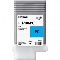 Cartouche d'encre CANON Cyan Photo PFI-106 PC 130Ml