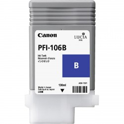 Cartouche d'encre CANON Bleu PFI-106 B 130Ml