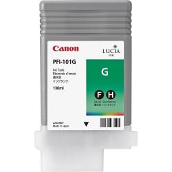 Cartouche d'encre CANON Vert LUCIA PFI-101 G 130ml