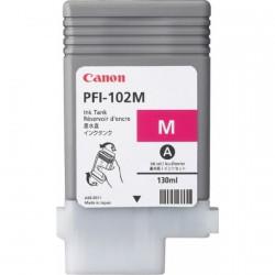 Cartouche d'encre CANON Magenta LUCIA PFI-102 M - 130ml