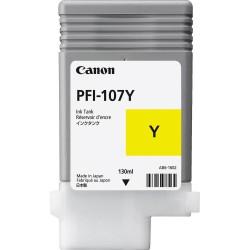 Cartouche d'encre CANON Jaune PFI-107 Y 130ml