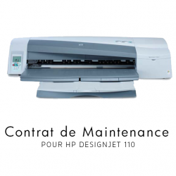 Contrat de maintenance 1 an pour HP 110