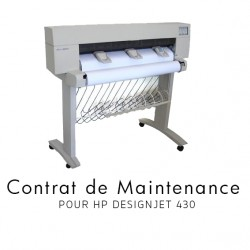Contrat de maintenance 1 an pour HP 430