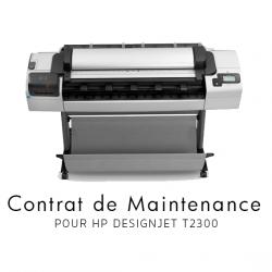 Contrat de maintenance 1 an pour HP T2300