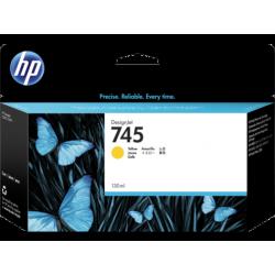 Cartouche d'encre Jaune HP 745 130ML