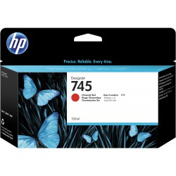 Cartouche d'encre Rouge Chromatique HP 745 130ML