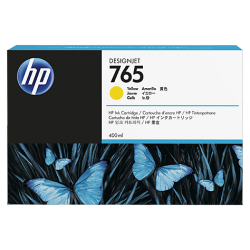 Cartouche d'encre HP 765 Jaune 400ml