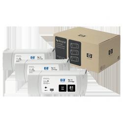 Pack x 3 Cartouches d'encre Noir HP81 680ml