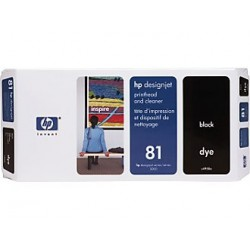 Tête d'impression Noir HP 81
