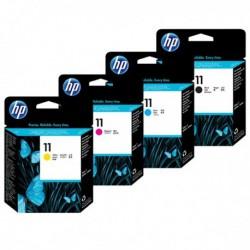 Pack Tête d'impression HP 11