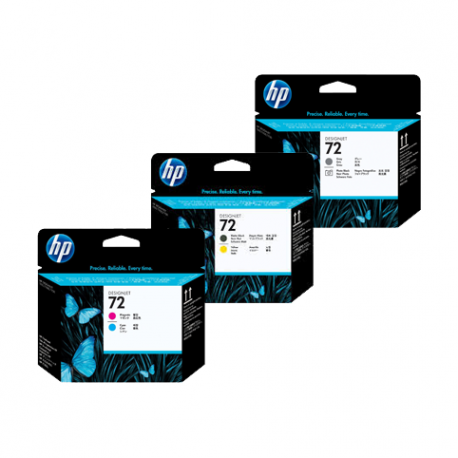 Pack Tête d'impression HP 72