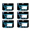 Pack Cartouche d'encre HP 72 - 130 ml