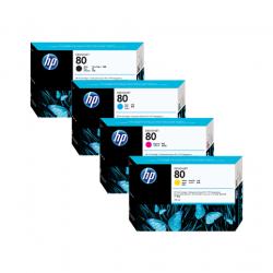 Pack Cartouche d'encre HP 80 - 175ml