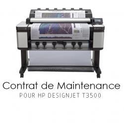 Contrat de maintenance 1 an pour HP T3500