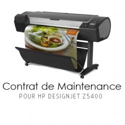 Contrat de maintenance 1 an pour HP Z5400