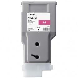 Cartouche d'encre CANON PFI-207M Magenta 300ml