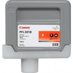 Cartouche d'encre CANON PFI-301R Rouge 330ml