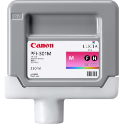 Cartouche d'encre CANON PFI-301M Magenta 330ml