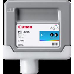 Cartouche d'encre CANON PFI-301C Cyan  330ml