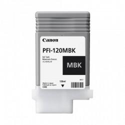 Cartouche d'encre CANON PFI-120MBK Noir Mat - 130ml