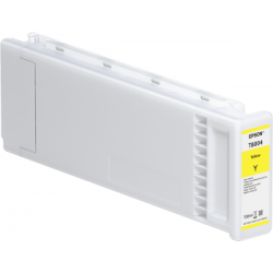 Cartouche d'encre EPSON T800400 Jaune - 700ml