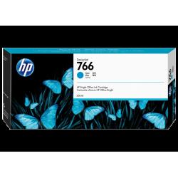 Cartouche d'encre HP 766 Cyan 300ml