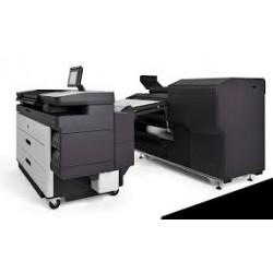 Plieuse en ligne HP F70 avec applicateur d'onglets, installation et garantie 3 ans