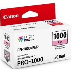 Cartouche d'encre Canon PFI-1000PM Magenta photo 80 ml