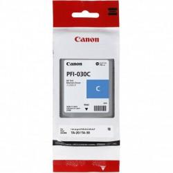 Cartouche d'encre Canon PFI-030C - Cyan - 55 ml