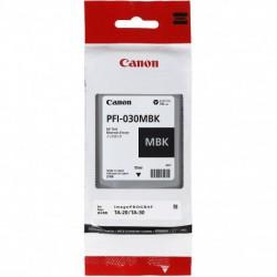 Cartouche d'encre Canon PFI-030MBK - Noir Mat - 55 ml