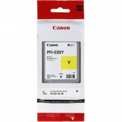 Cartouche d'encre Canon PFI-030Y - Jaune - 55 ml