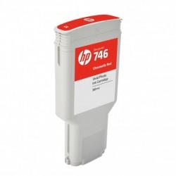 Cartouche d'encre photo Vivid HP 746 Rouge chromatique   300ml