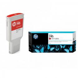 Cartouche d'encre Rouge Chromatique HP 745 300ML