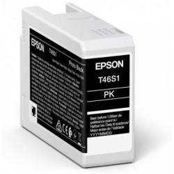 Cartouche d'encre EPSON Noir Photo T46S1 25 ml