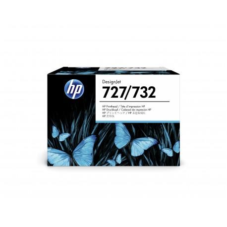 Tête d'impression 6 couleurs HP 727
