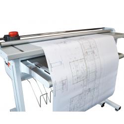 Plieuse Electrique Coupeuse de plans A0 (4 m) : Powercosinus Evo XL