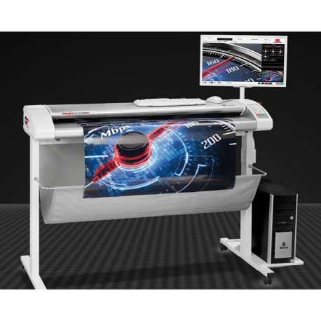 Scanner couleur grand format HD: Powerscan 850i Pack +