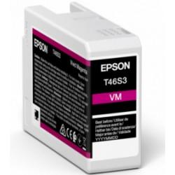Cartouche d'encre EPSON Magenta vif  T46S3 25 ml