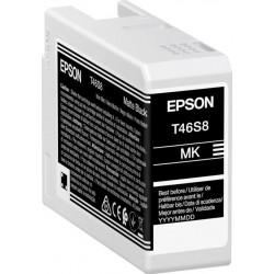 Cartouche d'encre EPSON Noir Mate T46S8 25 ml